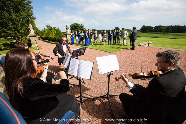 North East Soiree String Quartet at MatfenHall